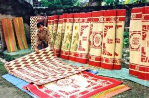 Nguy cơ mai một làng nghề chiếu cói Nga Sơn